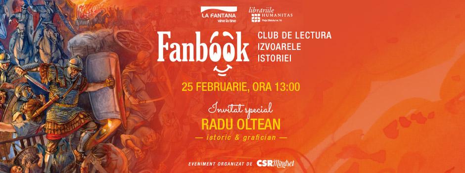 """Clubul de lectura pentru copii si adolescenti """"Fanbook – Izvoarele istoriei"""" propune un mod practic de întelegere a istoriei"""