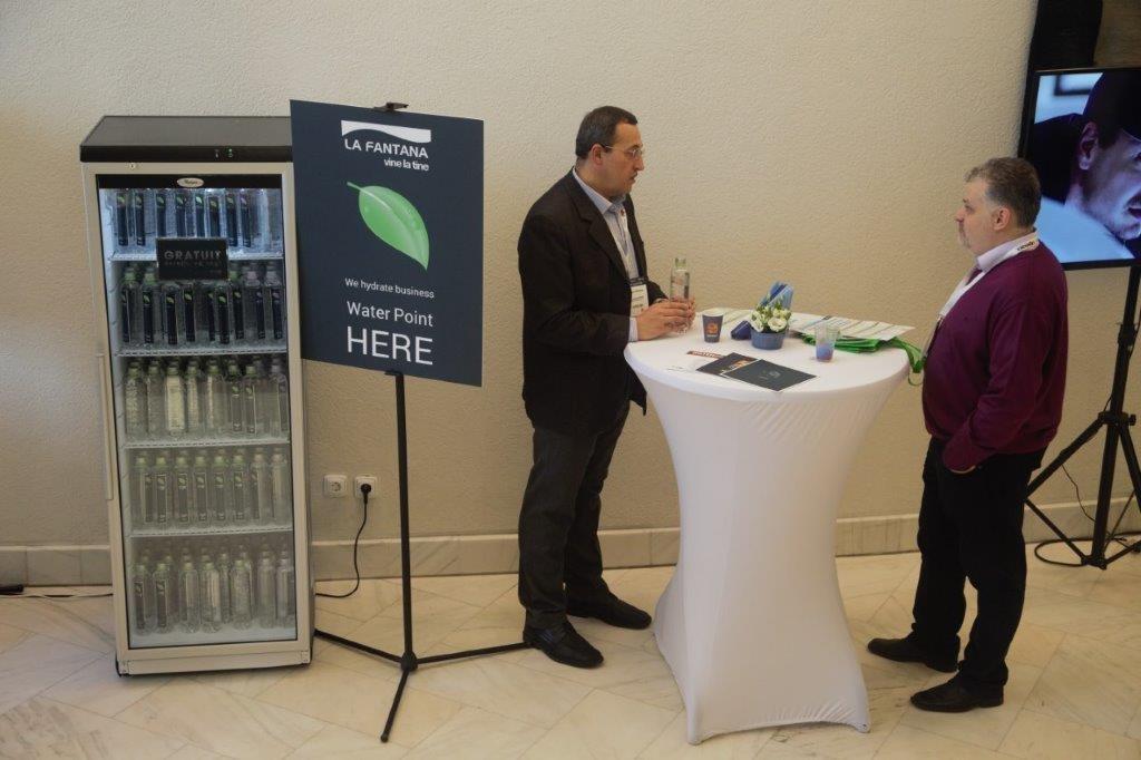 La Fântâna means business – apă și cafea pentru evenimente de afaceri